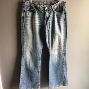 Lucky brand dungarees flare jeans